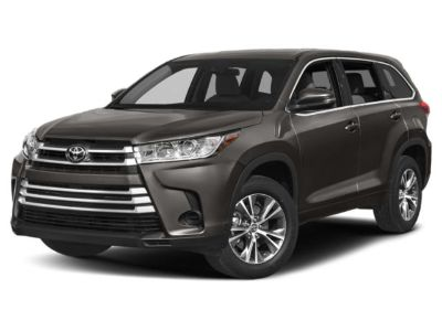 2019 Toyota Highlander LE FWD (Midnight Black Metallic)