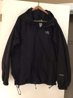 Men s North Face Hyvent hooded jacket