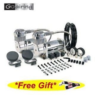 Find VIAIR 38003 Dual Chrome 380C Value Pack Free Gift FREE SHIPPING motorcycle in Corona, California, US, for US $319.95