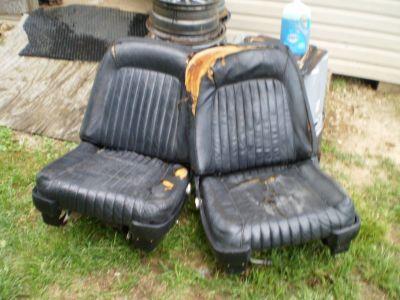 RARE 61 62 63 FORD THUNDERBIRD BUCKET SEATS POWER RAT ROD HOT ROD CAR TRUCK