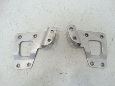 Buy 2008 Kawasaki KFX450R KFX 450 ATV Air Box Intake Mounting Brackets Airbox motorcycle in West Springfield, Massachusetts, United States