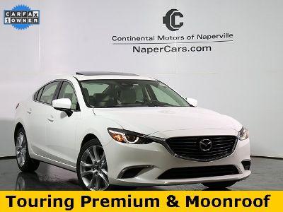 2017 Mazda Mazda6 Touring (Snowflake White Pearl Mica)