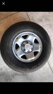 Toyota Tacoma brand new rim and tires