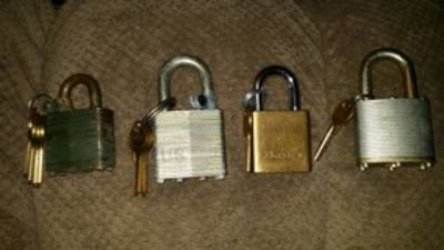 locks with keys