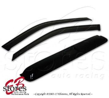 Find Outside Mount Rain Guard Visor Sun roof Type 2 3pc Dodge Ram 1500 09-16 Crew Cab motorcycle in La Puente, California, United States, for US $31.86