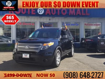 2011 Ford Explorer Base (Black)