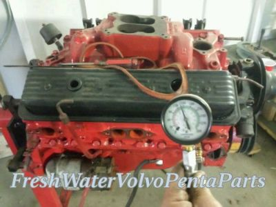 Sell Volvo Penta 1991 Gm V8 5.7L 350 Long Block Engine 145 lbs compression motorcycle in North Port, Florida, United States, for US $1,595.00