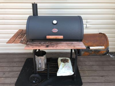 Char-Grill smoker