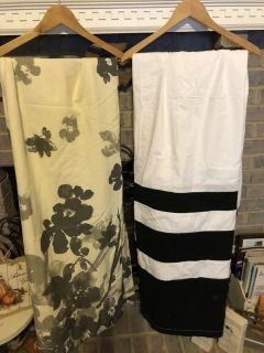 Fabric Shower curtains Excellent condition! 10$ ea