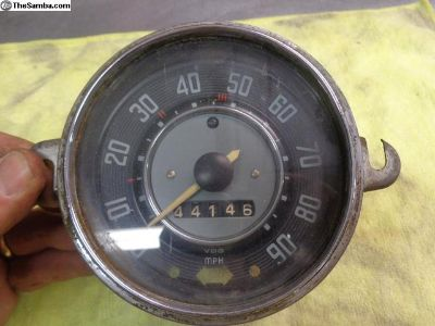 '64 beetle speedo speedometer good