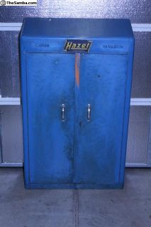 1950's-60's Hazet 100 Wall Mounted Tool Box
