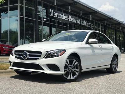 2019 Mercedes-Benz C-Class (Polar White)