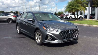 2018 Hyundai Sonata SEL+ (machine gray)