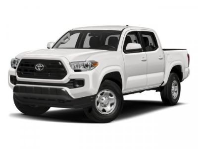2018 Toyota Tacoma SR Double Cab 5' Bed V6 4x4 AT (Silver Sky Metallic)