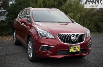 2018 Buick Envision Essence (Chili Red Metallic)