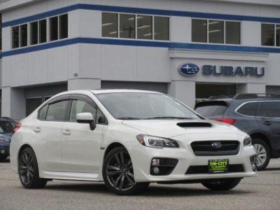 2016 Subaru Impreza WRX Limited (Crystal White Pearl)