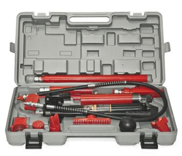 Buy 10 Ton Porta Power Hydraulic Jack Body Frame Repair Kit Auto Shop Tool Heavy motorcycle in Rancho Cucamonga, California, US, for US $124.95