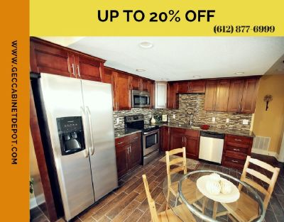 Improve Your Kitchen Décor with Wooden Kitchen Cabinets | GEC Cabinet Depot