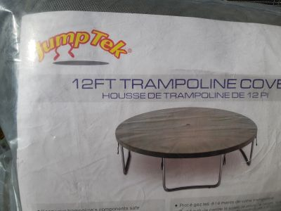 12ft trampoline cover