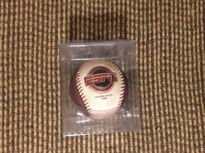 New In Box Disney World ESPN Club limited Edition Changing Color Authentic Baseball Swap Only