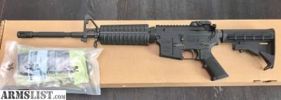 For Sale: AR-15 COLT LE6920CA M4 CARBINE FACTORY NEW UNFIRED MINT IN BOX
