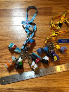 Lanyards with assorted animals