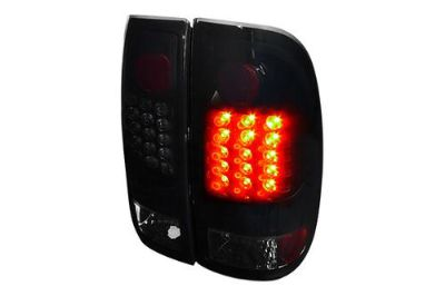 Sell New 97-03 Ford F-150 Left LED Tail Light+RH Black Truck Rear Brake Stop Light motorcycle in Walnut, California, US, for US $169.73