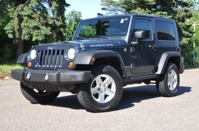 2008 Jeep Wrangler Rubicon (Blue)
