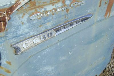Find 1962 62 Ford CABOVER COE C-600 BADGES GOOD PAIR 1961 61 1963 63 motorcycle in Great Bend, Kansas, US, for US $75.00