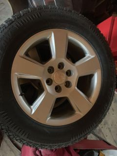 Set of 4 rims and tires