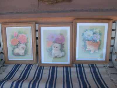 Three Pictures of Cats