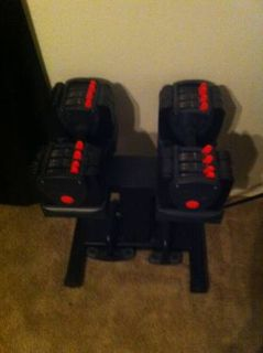 Turbobell Dumbbell Set and Stand