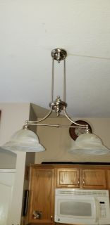 Kitchen light fixtures!