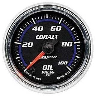 Buy Autometer 2in. OIL PRESS; 0-100 PSI; FSE; COBALT motorcycle in Acworth, Georgia, US, for US $200.06