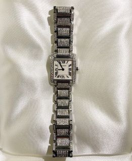 Cartier Tank Francaise 6.5diamond watch
