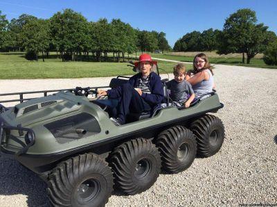 $3800 2013 ARGO 8x8 750 HDi Amphibious ATV