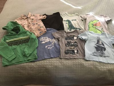 4T Cat & Jack, Carter s, and Misc Lot