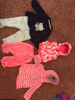 NB and 0-3m winter wear Gymboree, Cat & Jack, Carters