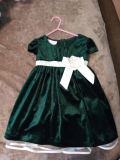 Christmas dress size 24 months
