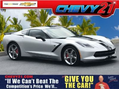 2018 Chevrolet Corvette Stingray Z51 (Blade Silver Metallic)