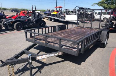 2019 Charmac Trailers 12' X 7' STEEL UTILITY SA Trailer - Utility Paso Robles, CA