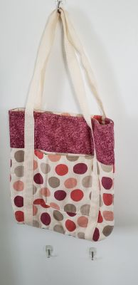 Handmade, quilted tote adorable, smoke free
