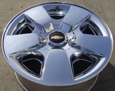 Purchase 20 INCH 07-13 CHEVY AVALANCHE SILVERADO 1500 TAHOE FACTORY CHROME WHEEL RIM 5417 motorcycle in Austin, Texas, US, for US $269.95