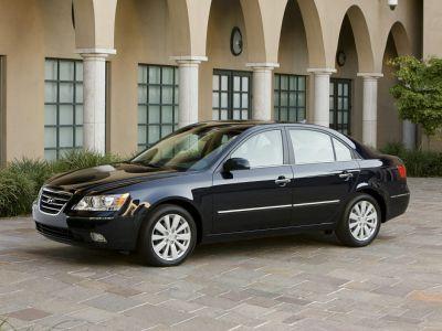 2009 Hyundai Sonata GLS (Bright Silver Metallic)