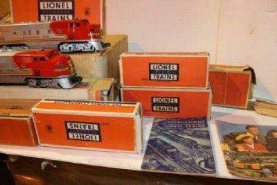 Vintage Toys: Lionel Trains & More