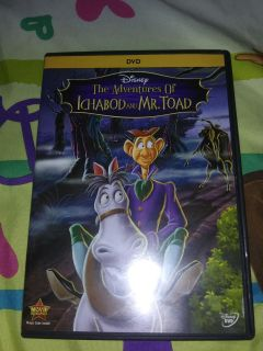The Adventure Of Ichabod And Mr.Toad DvdNo Holds
