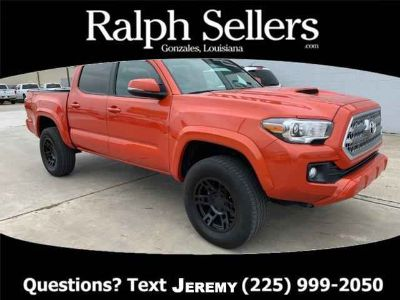 Used 2017 Toyota Tacoma Double Cab 5' Bed V6 4x2 AT (GS)