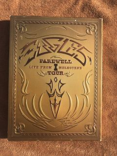 THE EAGLES Farewell I Tour Live from Melbourne 2-Disc DVD
