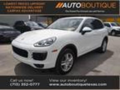 used 2016 Porsche Cayenne for sale.