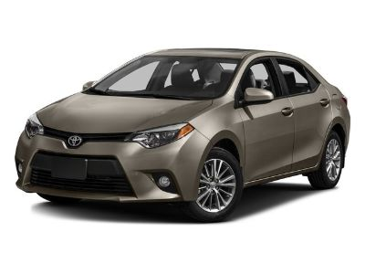 2016 Toyota Corolla L (Not Given)